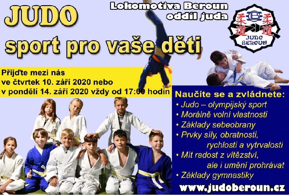 leták Judo
